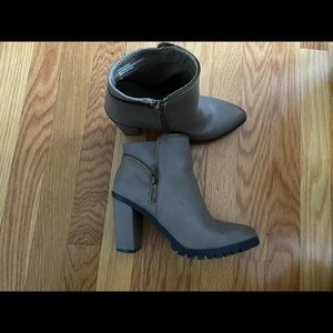 Booties from Charlotte Russe